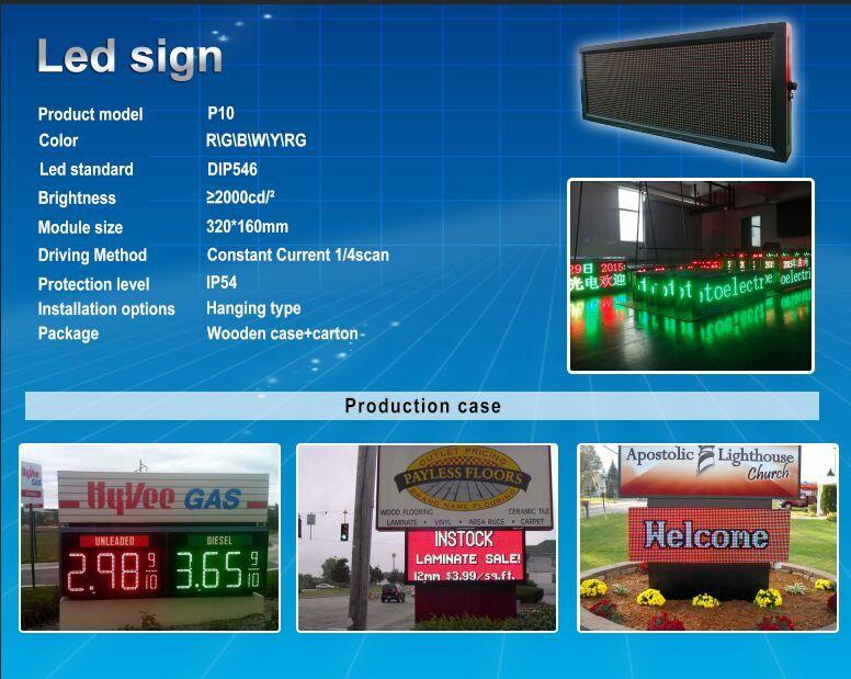 sign panel