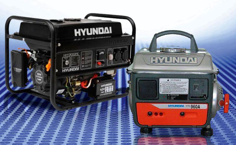 Revistel nuevos generadores port tiles hyundai est n - Generadores electricos pequenos ...