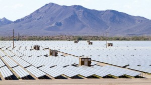 Photos from First Solar's Agua Caliente site in Arizona.