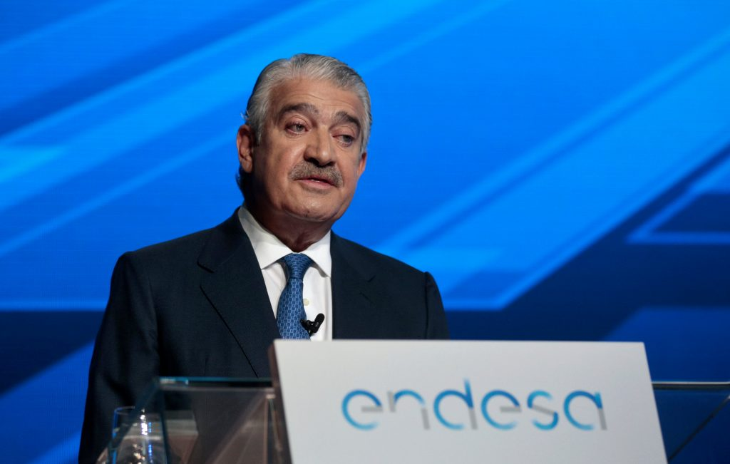 CEO of Spanish power company Endesa Jose Bogas delivers a speech during the annual shareholders meeting in Madrid, Spain, April 26, 2016. REUTERS/Andrea Comas